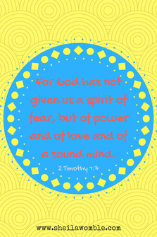 Jesus gives POWER not Fear!